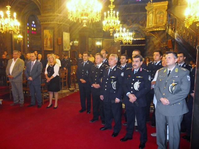 Εορτή του Προστάτη της Ελληνικής Αστυνομίας Αγίου Αρτεμίου