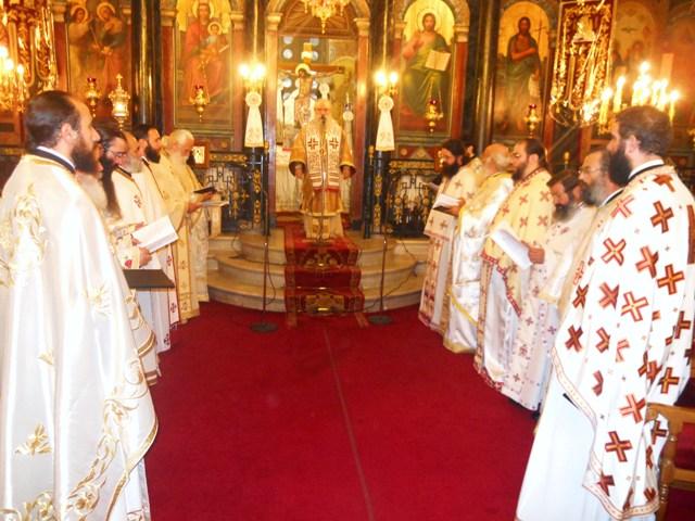Η αρχαιοτέρα Θεία Λειτουργία στον Μητροπολιτικό ναό Σπάρτης