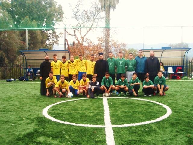 Με επιτυχία διεξάγεται το τουρνουά ποδοσφαίρου 5Χ5 των Κατηχητικών Σχολείων