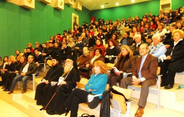 Επιτυχημένη η ημερίδα για τη νοερά προσευχή με συνδιοργανωτές την Ιερά Μητρόπολή μας και το Πανεπιστήμιο Πελοποννήσου