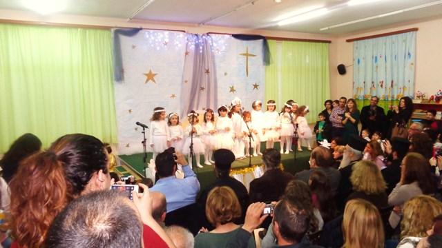 Χριστουγεννιάτικη γιορτή Βρεφονηπιακού Σταθμού Σπάρτης ''ο Άγιος Βασίλειος''