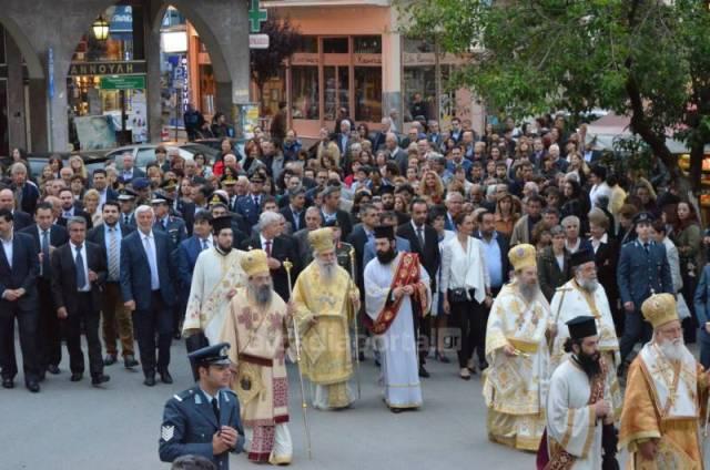 Ο Ποιμενάρχης μας στον εορτασμό των Πολιούχων της Τρίπολης