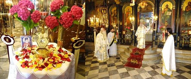 Αρχιερατική Θεία Λειτουργία στη Σπάρτη για τον Άγιο Λουκά, Επίσκοπο Συμφερουπόλεως τον ιατρό