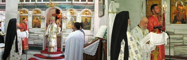 Ο Σεβ. Μητροπολίτης μας τίμησε τον επί 62 χρόνια διάκονο π. Νικόλαο Τζώρτζη