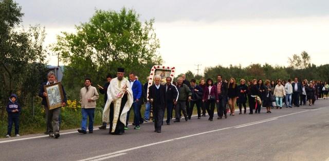 Εορτασμός Ζωοδόχου Πηγής στο φερώνυμο παρεκκλήσιο στα Μενελάια