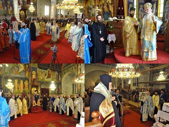 Λαμπρός εορτασμός στον Ι.Ν Αγίου Νικολάου Σπάρτης και εις Διάκονον χειροτονία