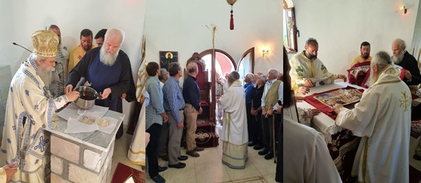 Με εκκλησιαστική μεγαλοπρέπεια τα εγκαίνια Ιερού Ναού στον Αγ. Δημήτριο Ζάρακος