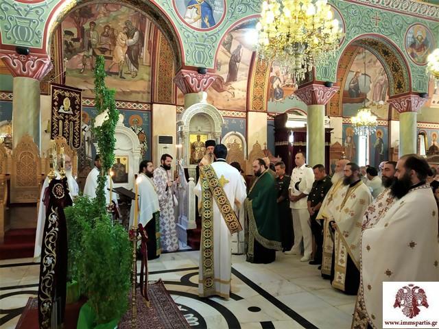 Οι Χαιρετισμοί του Σταυρού στον Ι.Ν Οσίου Νίκωνος Σπάρτης