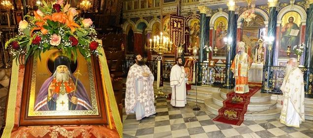 Ο Μητροπολιτικός Ναός Ευαγγελιστρίας τίμησε τη μνήμη του Αγ. Λουκά Συμφερουπόλεως