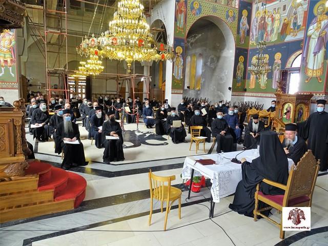 Το ιερατικό ήθος και η εκκλησιαστική ενότητα στο επίκεντρο του Ιερατικού Συνεδρίου της Ιεράς Μητροπόλεώς μας
