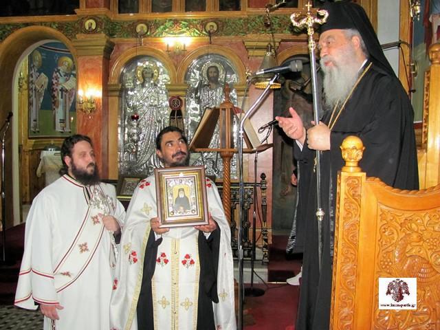 Η πρώτη φετινή Ιερά Παράκληση στον Αγ. Παϊσιο στον Ι.Ν. Αγ. Βαρβάρας Καλογωνιάς